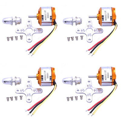 4x A2212 930Kv Brushless Outrunner Motor For Airplane Aircraft Quadcopter S