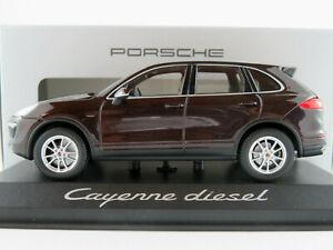 Minichamps-porsche-wap0200030e-Porsche-Cayenne-d-en-mahagonimet-1-43-nuevo-en-el-embalaje-original