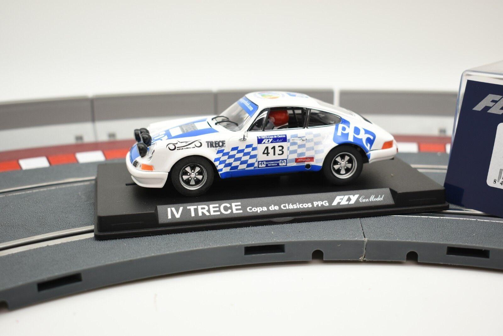 96080 FLY CAR MODEL 1 32 SLOT CAR PORSCHE 911 S IV TRECE COPA DE CLASICOS E-903