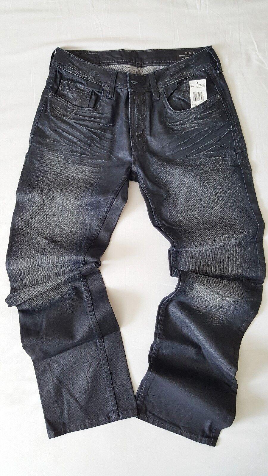 Buffalo Jeans Oscuro y pintado de seis X  BM16196-precio minorista sugerido por el fabricante  129.99  perfecto