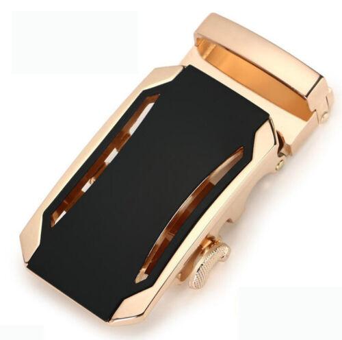 Dressy Men Metal Automatic Buckle For Leather Ratchet Belt Waistband Strap Waist