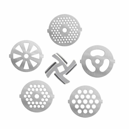 5# Stainless Steel Disc Blade Mincer Hole Plate for Home Meat Grinder Machine