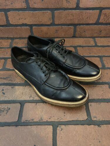 Hugo Boss Oxfords Black Leather Size 9