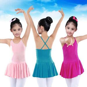 Toddler-Girls-Straps-Leotards-Ballet-Bodysuit-Dancewear-Dresses-Clothes-Outfits