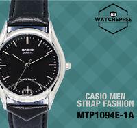 Casio Strap Fashion Men's Watch Mtp1094e-1a