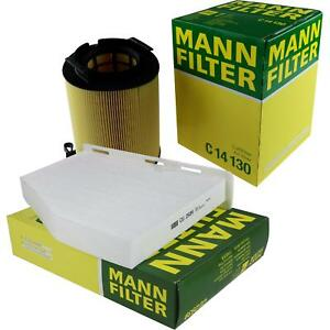 Mann-Filter-set-filtro-de-aire-filtro-polen-inspeccion-paquete-mli-9690299