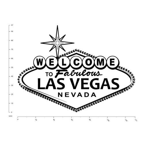 Las Vegas Bienvenida Vinilos WS-18896