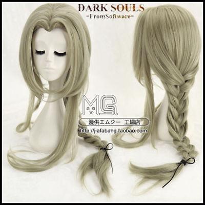 Dark Souls Fire Keeper Flaxen Anime Costume Cosplay Wig
