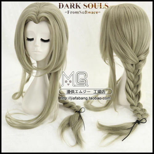 Dark Souls Fire Keeper Flaxen Anime Costume Cosplay Wig