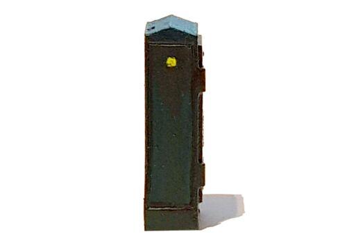 TD18-2 5 x Street Junction box 2 3d printed N scale model railway scenics