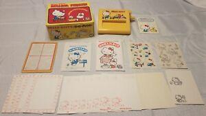 Very-Rare-Vintage-1980-JZTY-034-HELLO-KITTY-034-Rolling-Printer-Kit-w-Original-Box
