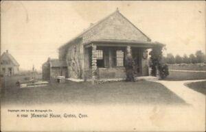 Groton-CT-Memorial-Home-c1910-Postcard