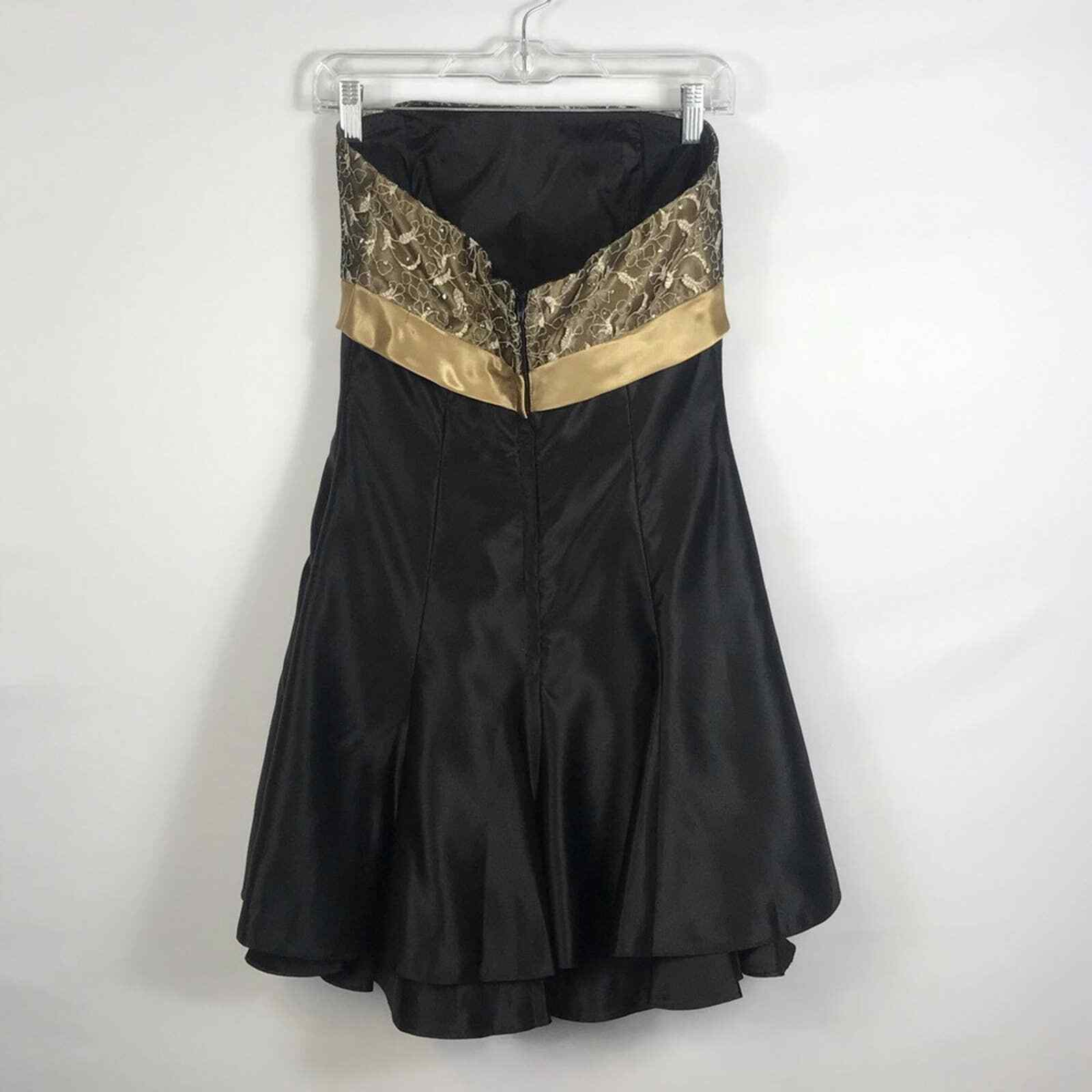 Jessica McClintock Gunne Sax Formal Prom Dress Si… - image 5