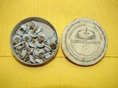 Ancienne Boite En Carton, Veilleuses Françaises, Vitry Sur Seine