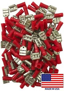 """USA 500 12-10 Gauge .250 1//4/"""" Tab Vinyl Female Quick Connector Wire Terminal"""
