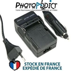 Chargeur-pour-batterie-FUJI-NP-150-110-220V-et-12V
