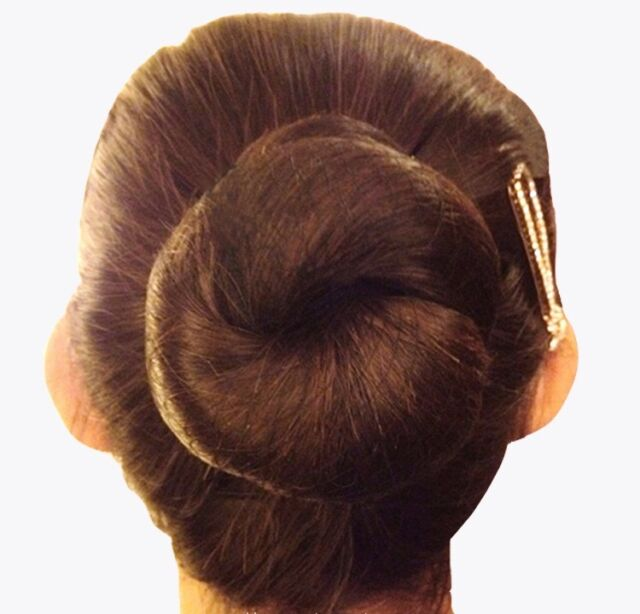 Medium Brown Hair Nets 5 PACK Bun Hairnet Ballet Gymnastics Hairnets K8