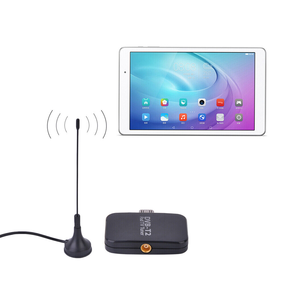 DVB-T2 Micro USB TV Tuner HD TV Receiver Stick for Android Phone Tablet US Stock
