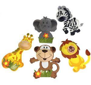 5-10-15-20-Baby-Shower-Safari-Jungle-Animals-Decorations-Foam-Favors-Girl-or-Boy