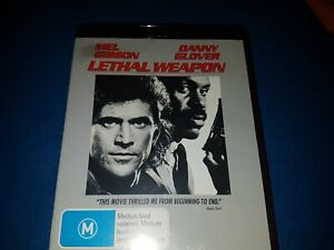 Lethal-Weapon-MEL-GIBSON-amp-DANNY-GLOVER-HD-DVD-In-Near-Mint-Condition