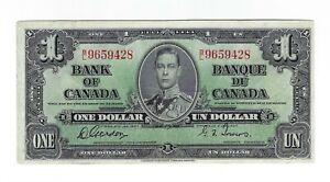 1-One-Dollar-Kanada-1937-Canada-King-George-VI