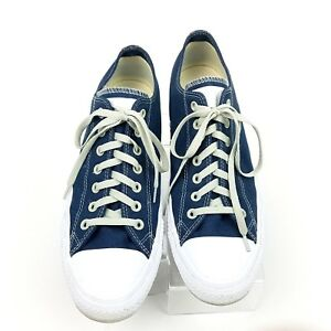 d715075aa02c59 Converse All Star Oxford Navy White Men s Size 11.5 BlueCat Promo ...