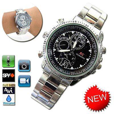 Spy HD Wrist DV Watch 8GB Video 1280*960 Hidden Camera DVR Waterproof Camcorder