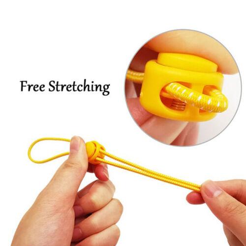 12 Stück Kordelzug Stopper Cord Lock Clamp Kippclip Stopper Schnürsenkel SchnHCY