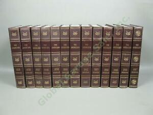 13-Americana-Encyclopedia-Annuals-Collection-Lot-1955-1967-Event-Photo-History