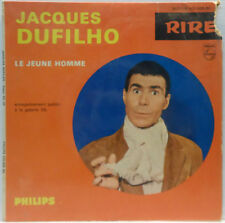 "Jacques Dufilho - Le Jeune Homme 7"" France Comedy Spoken words Philips 432.966"