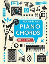 Pick Up & Play Piano Chords (pb,spiral bound) by Jake Jackson easy to use NEW