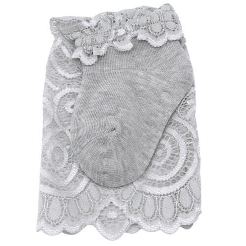 Pretty Knee High Lace Socks Christening Cotton Socks for Baby Girl Children T