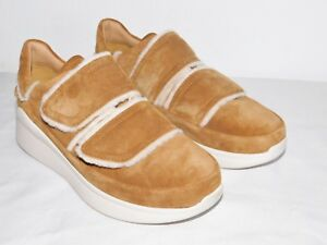 ba28b8a2162 Details about NEW NwoB WOMENS CHESTNUT SZ 9 UGG ASHBY SPILL SEAM SUEDE  LOW-TOP SNEAKERS SHOES