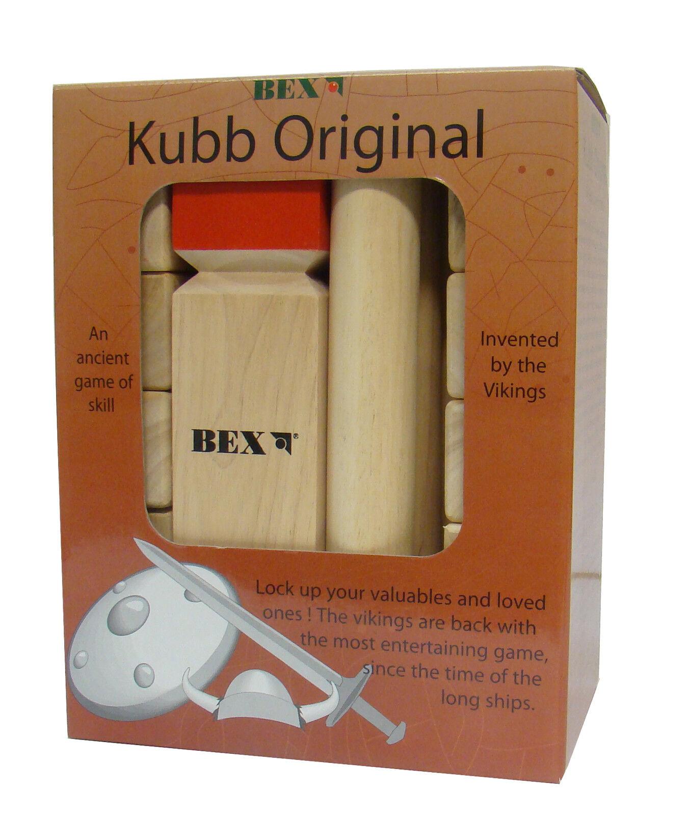 KUBB  Wikingerspiel Gummibaumholz XXL High Quality Original Original Original Turnierversion 2da86c