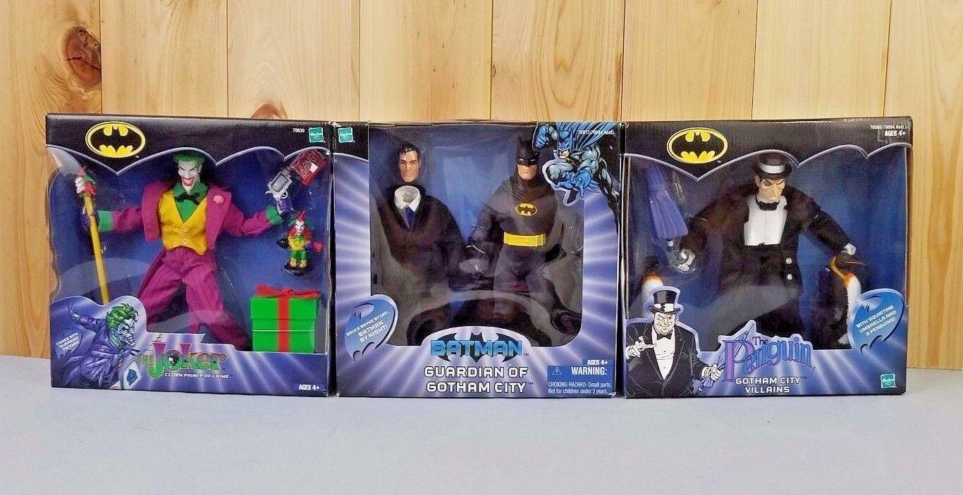 Gotham batman lmtdder jokerder pinguin nib 2002 2001 hasbro spielzeug neu