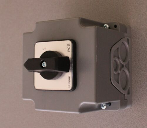 Hauptschalter Geräterschalter Maschinenschalter  Drehstrom bis 7,5 kW NEU TOP