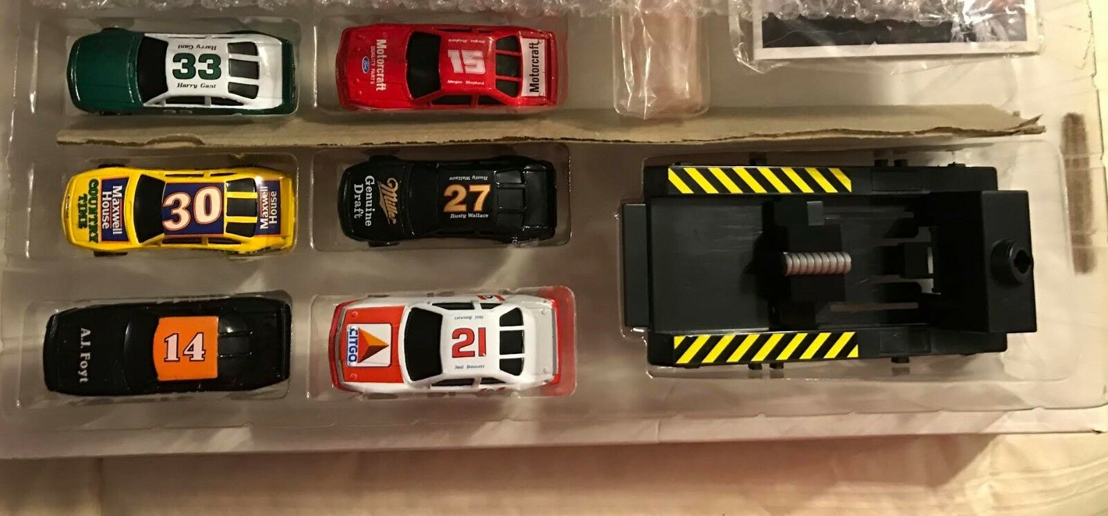 1990 RARE12 CAR BOXED SET - MINT CONDITION - - - NEVER REMOVED FROM BOX 0bfdcb