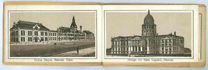 1886 DENVER PHOTO * ROTOGRAVURE BOOKLET * FREE SHIPPING & NOW ON SALE * AD402