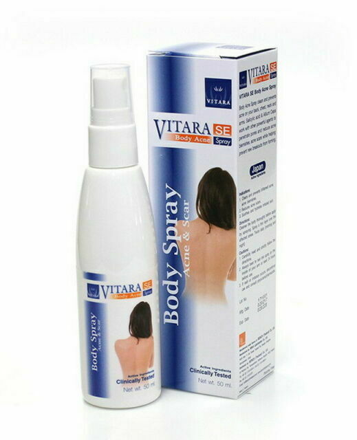 10 X Vitara Se Acne Body Back Chest Pimple Scars Treatment Spray 50ml Dhlexpress For Sale Online Ebay