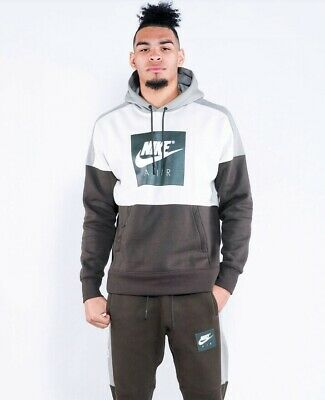 Details about NWT Nike Sportswear NSW Air Fleece Hoodie Sweatshirt (886046 072) Sz 2XL