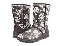 I Heart Uggs By Ugg Australia I Heart Kisses Short Skull Boot Size 6