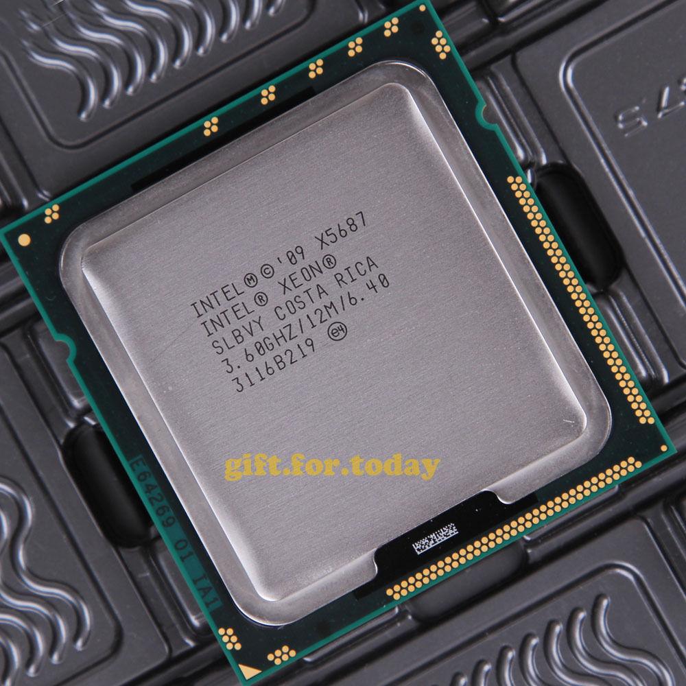 Intel Xeon DP X5687 3.60 GHz Processor Socket B LGA-1366 AT80614005919AB