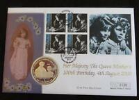 2001 GIBRALTAR SILVER PROOF 1 CROWN COIN PNC QUEEN MOTHER'S 100th BIRTHDAY 1/500