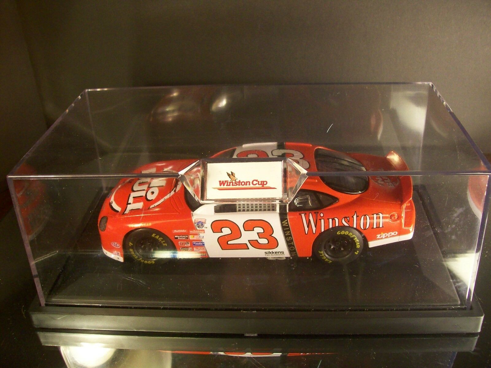 Rare Jimmy Spencer Winston No Bull 1998 1998 1998 Ford Taurus 1 24 Racing Champions 44735a