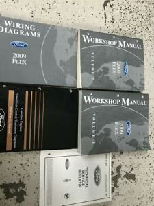 2009 Ford FLEX Service Shop Repair Workshop Manual Set FACTORY W EWD PCED +