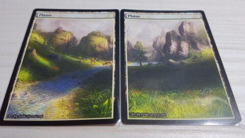 Plains #5 Non-Foil Panorama Custom Altered Basic Lands MTG