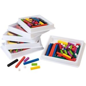Ressources didactiques Cuisenaire Rods Classroom Multi-Pack 858160444307
