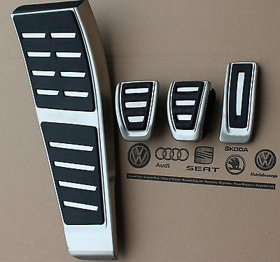 Audi RS4 B8 A4 S4 original pedal pedals caps Q5 A5 S5 RS5 8K1064200D manual cars