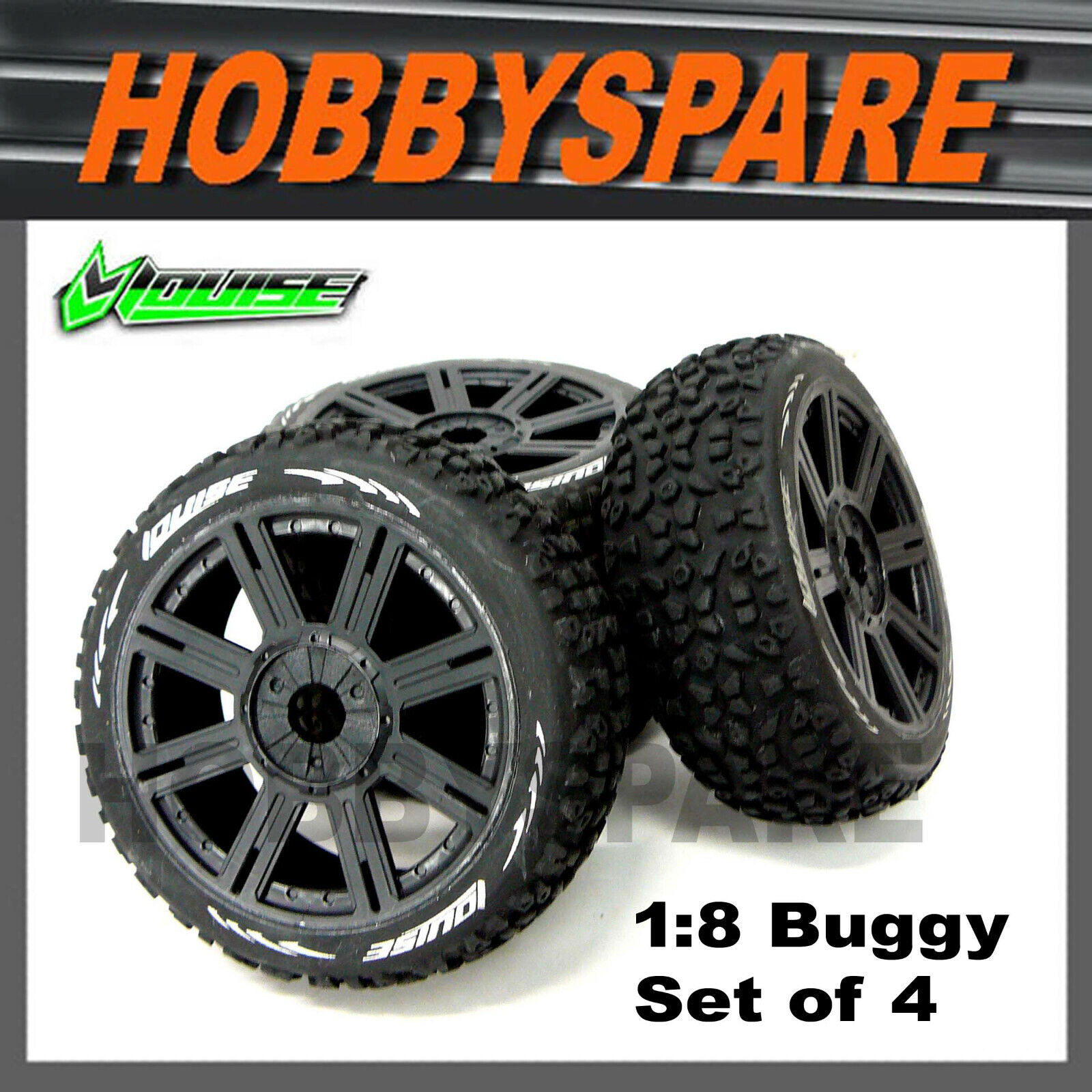 NEW ARRMA Dboots Hoons Tires//Wheels 2.9 Belted Speed Infraction FREE US SHIP