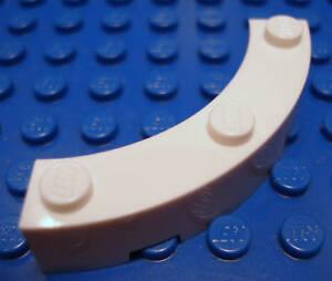 Lego X14 New Light Bluish Gray Brick Corner Round 4x4 Macaroni Wide With 3 Studs
